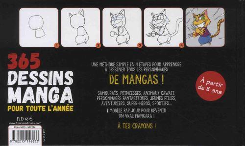 365 Dessins Manga Pour Toute L Année