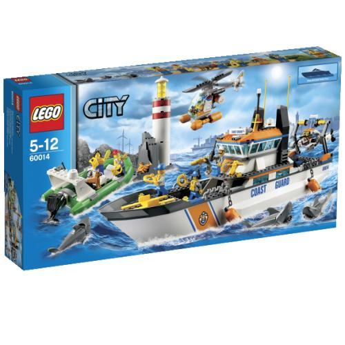 LEGO® City 60014 La patrouille des gardecôtes