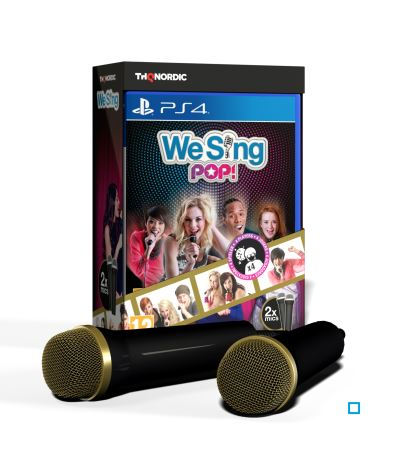 We Sing Pop PS4 + 2 microphones