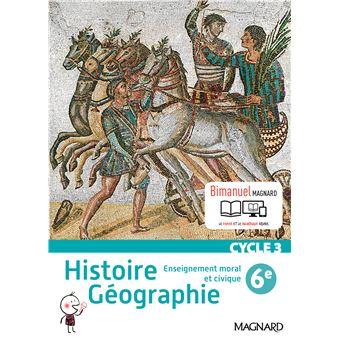 Histoire Geographie Emc 6e Bimanuel