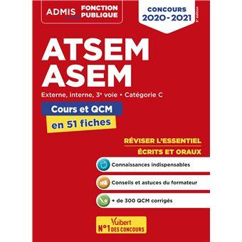 Concours ATSEM et ASEM, Épreuves écrite et orale, L'essentiel en 60 fiches, Catégorie C