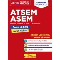 ATSEM ASEM cours et QCM en 51 fiches concours 2020-2021