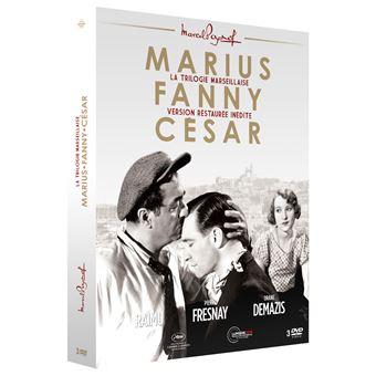 Trilogie de Pagnol : Marius, Fanny, César - DVD