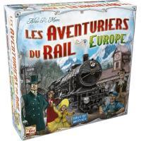 Jeu de stratégie Asmodée Les Aventuriers du Rail Europe