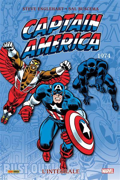 Captain America intégrale T08 1974