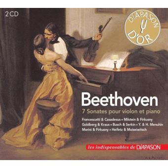7 sonates pour violon et piano