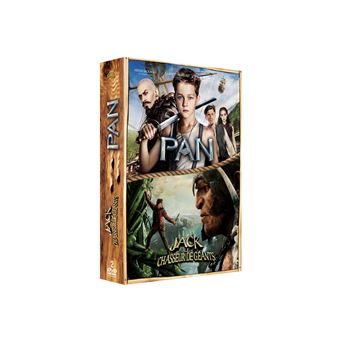 Coffret Pan, Jack et le chasseur de géants DVD