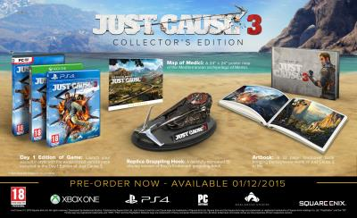 Just Cause 3 Edition Collector Xbox One