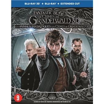 FANTASTIC BEASTS:THE CRIMES OF GRINDELWALD-BIL-BLURAY 3D