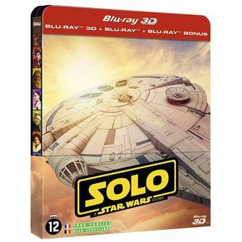 Star WarsSolo : A Star Wars Story Steelbook Blu-ray 3D