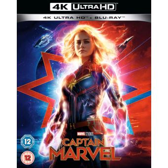 Captain MarvelCaptain Marvel Blu-ray 4K Ultra HD