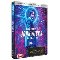 John Wick Parabellum Steelbook Edition Limitée Blu-ray 4K Ultra HD
