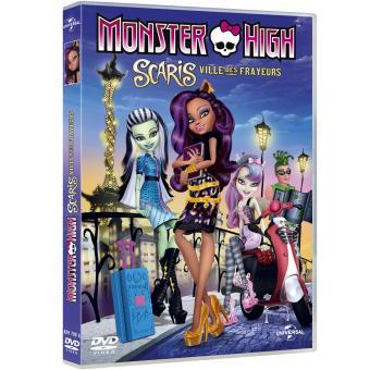 Monster HighScaris, la ville des frayeurs - DVD