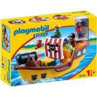 9118 - 1.2.3 Piratenschip  / Bâteau De Pirates