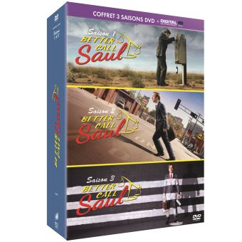 Better call SaulBetter Call Saul Saison 1 à 3 DVD