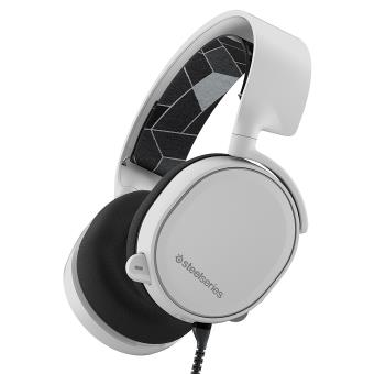 Micro-casque Gaming SteelSeries Arctis 3 Blanc