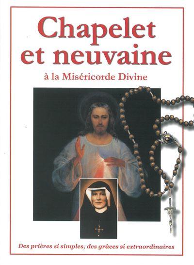 Chapelet et neuvaine à la miséricorde divine