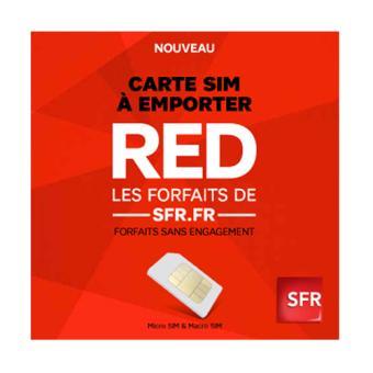 Kit Carte Sim Red De Sfrfr