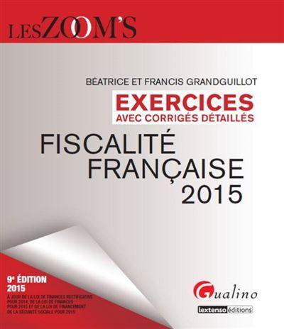 Exercices de fiscalité française (corrigés)