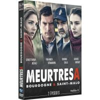 Meurtres en Bourgogne et à Saint-Malo DVD