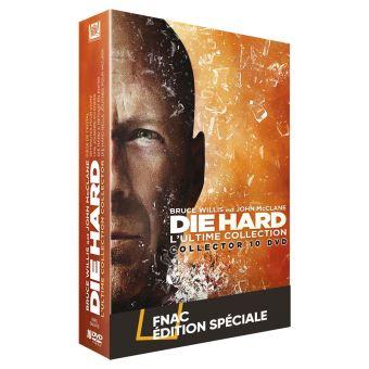 Die hardCoffret Die Hard L'intégrale Edition Spéciale Fnac DVD