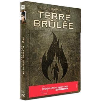 L'épreuveLe labyrinthe La terre brûlée Steelbook Collector Edition spéciale Fnac Blu-ray