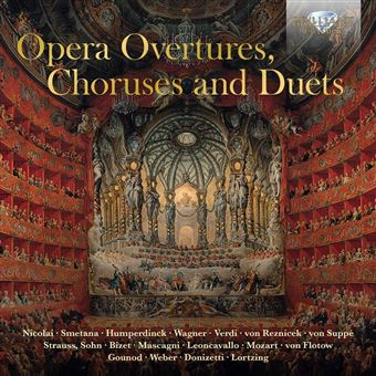 OPERA OVERTURES CHORUSES AND DUETS/3CD
