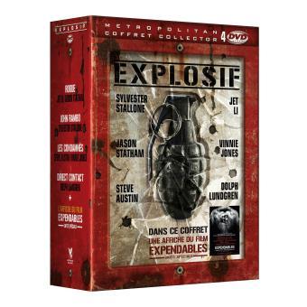 Rogue - John Rambo - Les Condamnés - Direct Contact - Coffret Explosif