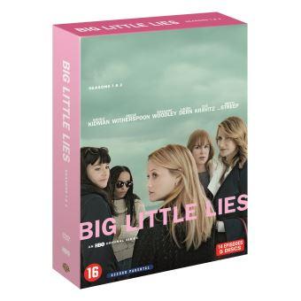 Big Little LiesCoffret Big Little Lies Saisons 1 et 2 DVD