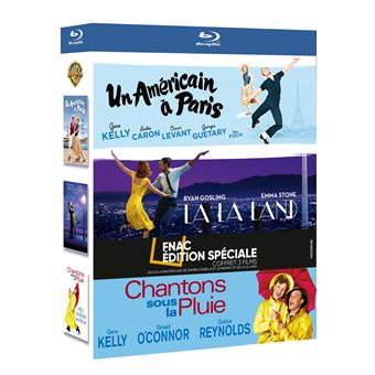 Coffret Comédie musicale Edition Spéciale Fnac Blu-ray