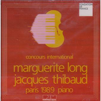 Concours International Long-Thibaud, Paris 1989