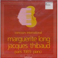Concours International Long-Thibaud, Paris 1989