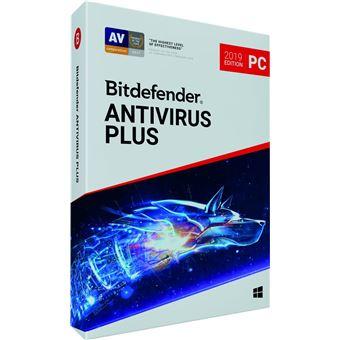 Software Bitdefender Antivirus Plus 2019 2 Year 3 PC