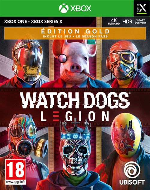 Watch Dogs Legion Edition Gold Xbox One