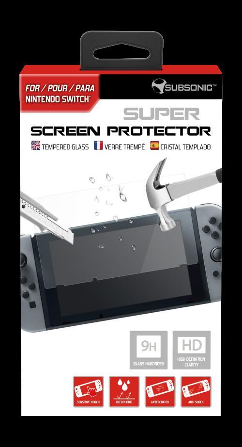 Super screen protector en verre trempé Subsonic pour Nintendo Switch
