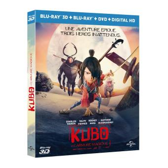 Kubo et l'armure magique Blu-ray 3D