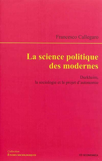 Science politique des modernes