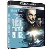 À la poursuite d'Octobre Rouge Blu-ray 4K Ultra HD