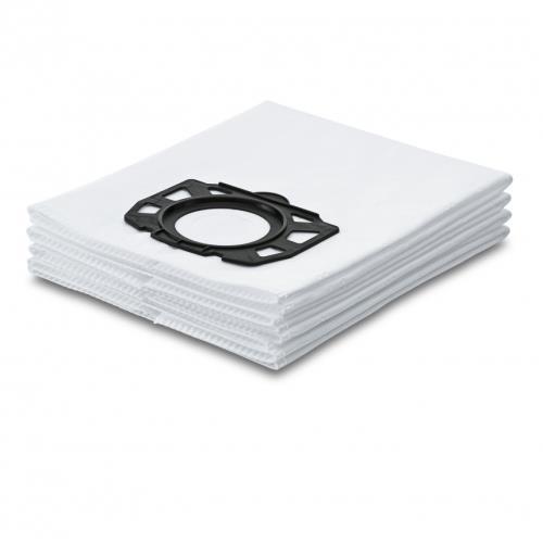 Sachet filtre en ouate pour Kärcher WD4, WD5, WD6 4 pièces