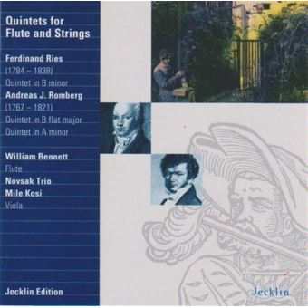 Quintets for flute and strngs