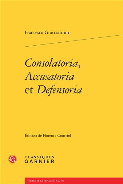 Consolatoria accusatoria defensoria