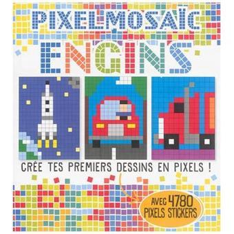 Pixel mosaic engins