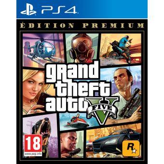 Grand Theft Auto V Édition Premium Online PS4