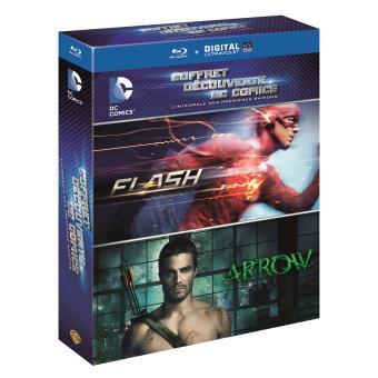 ArrowCoffret Arrow Saison 1 + The Flash Saison 1 Blu-ray
