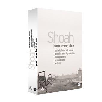 Coffret Shoah pour mémoire 5 Films DVD