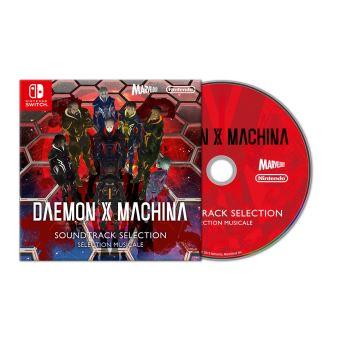 CD Bande originale Daemon x Machina Nintendo Switch