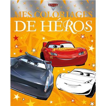 CarsCars 3 Mes coloriages de héros