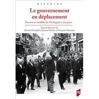 Le gouvernement en déplacement