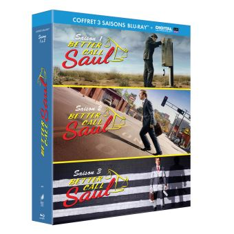 Better call SaulBetter Call Saul Saison 1 à 3 Blu-ray