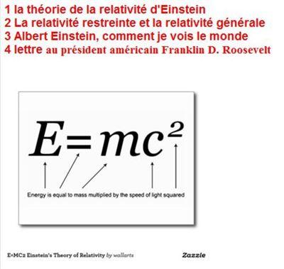 albert einstein theorie de la relativite